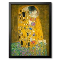obraz-w-ramie-secesja-klimt-pocalunek