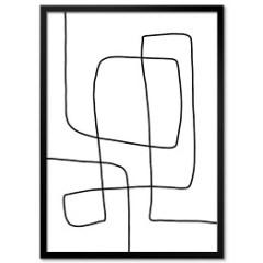 plakat-w-ramie-minimalizm-abstrakcje