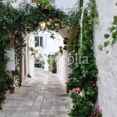 uliczka-we-włoszech-fototapeta-na-ścianę
