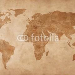 mapa-swiata-na-starym-papierze-vintage