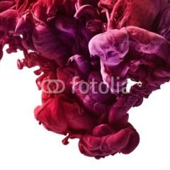 kropla-farby-w-wodzie-fototapeta-na-sciane