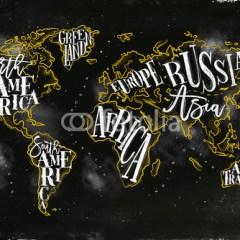 czarna-zlota-mapa-swiata