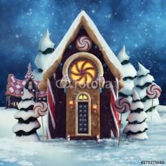 chatka-z-piernika-ozdoby-świąteczne-diy