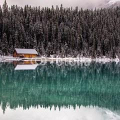 jezioro-zima-fototapeta-na-boze-narodzenie
