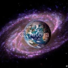 planeta-i-galaktyka-fototapeta