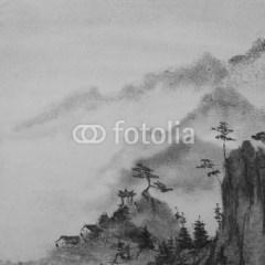 gory-w-chinach-krajobraz-fototapety-do-salonu