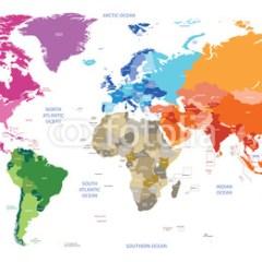 polityczna-kolorowa-mapa-swiata