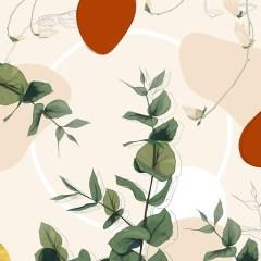 Kolekcja-inspiredspace-roślinne-wzory-eukaliptus