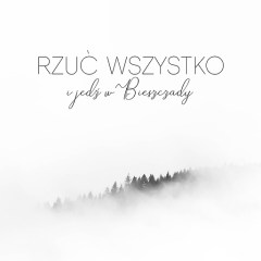 typografia-góry-Bieszczady-plakat