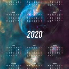 kalendarz-kosmos-planety-ilustracja