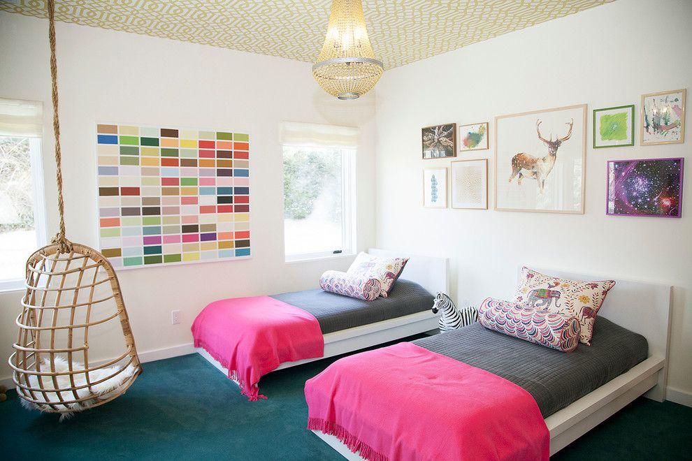أفضل ديكورات غرف نوم بنات كبار ذات ألوان جذابة ديكورموز