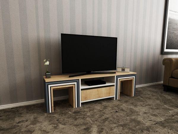 Modern TV sehpası modelleri