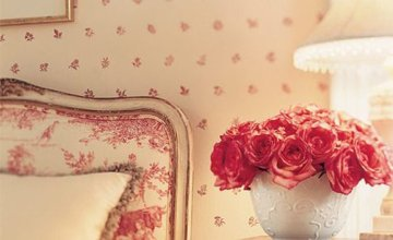 bedroom with romantic touch