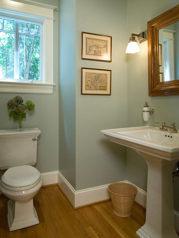 very best bathroom design with soft green