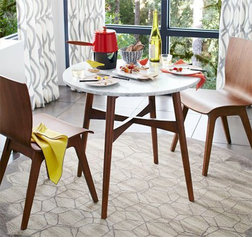chic bistro table