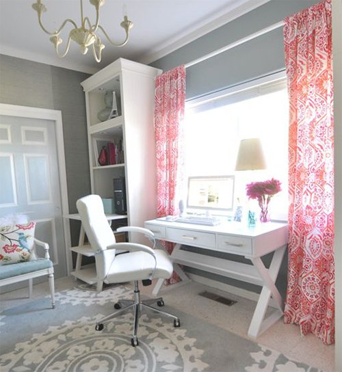 chic home office design