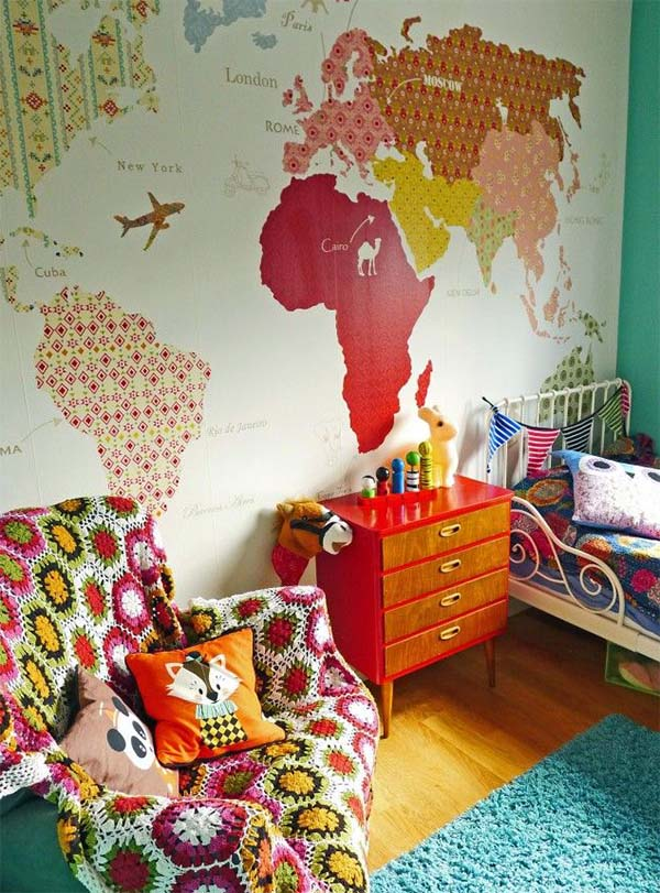 colorful bedroom design for your child