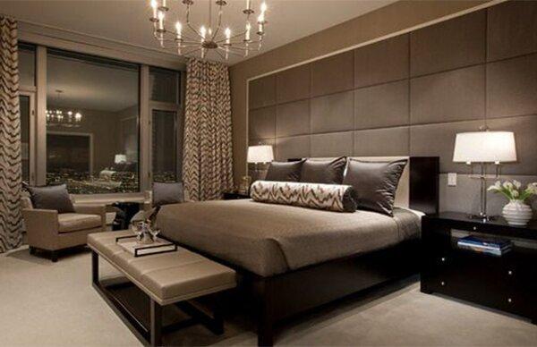 Modern Master Bedroom Design Decor Gondomanan