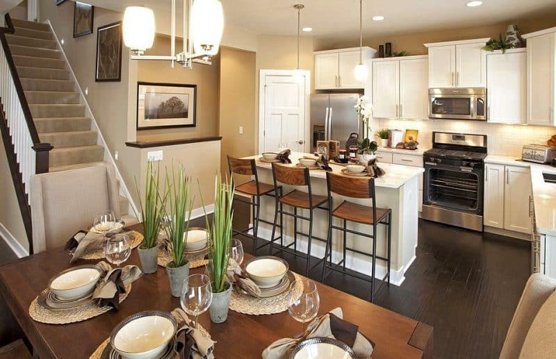 27 Small Kitchen Dining Room Combo Ideas Dcor Outline