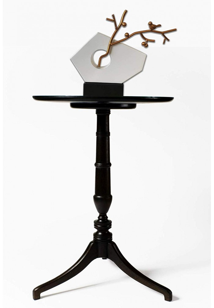 decorshore handcrafted balanced harmony decorative metal tabletop statue home decor accent statue abstract iron sculpture