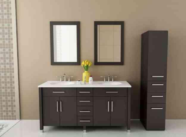 sink furniture cabinet. rana double sink modern contemporary