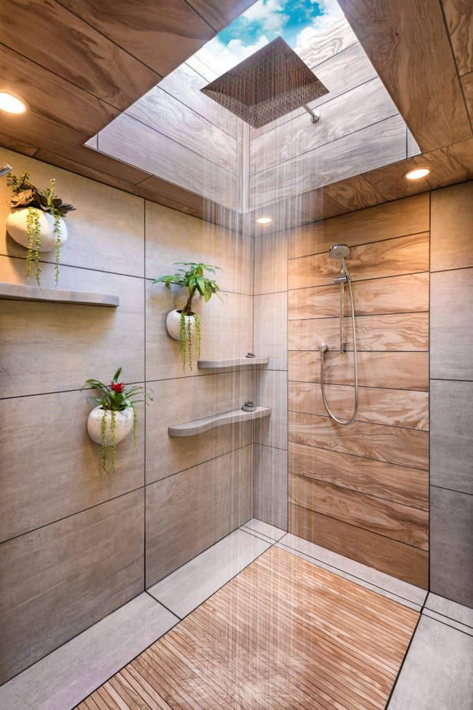 44 Modern Shower Tile Ideas and Designs **2021 Edition**