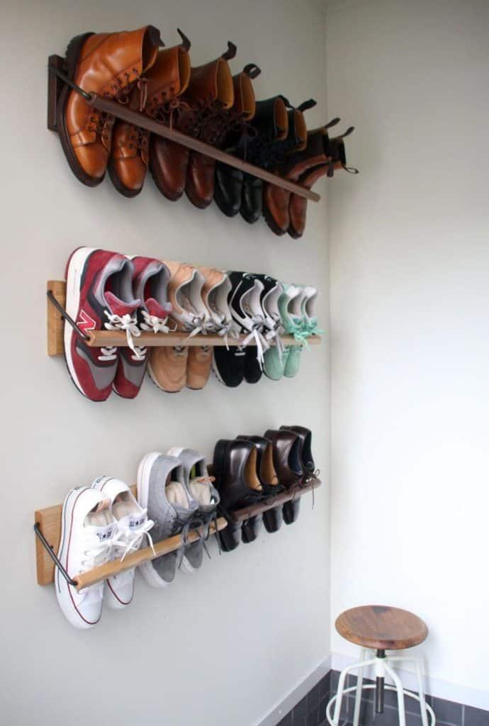 wall hanging shoe organizer