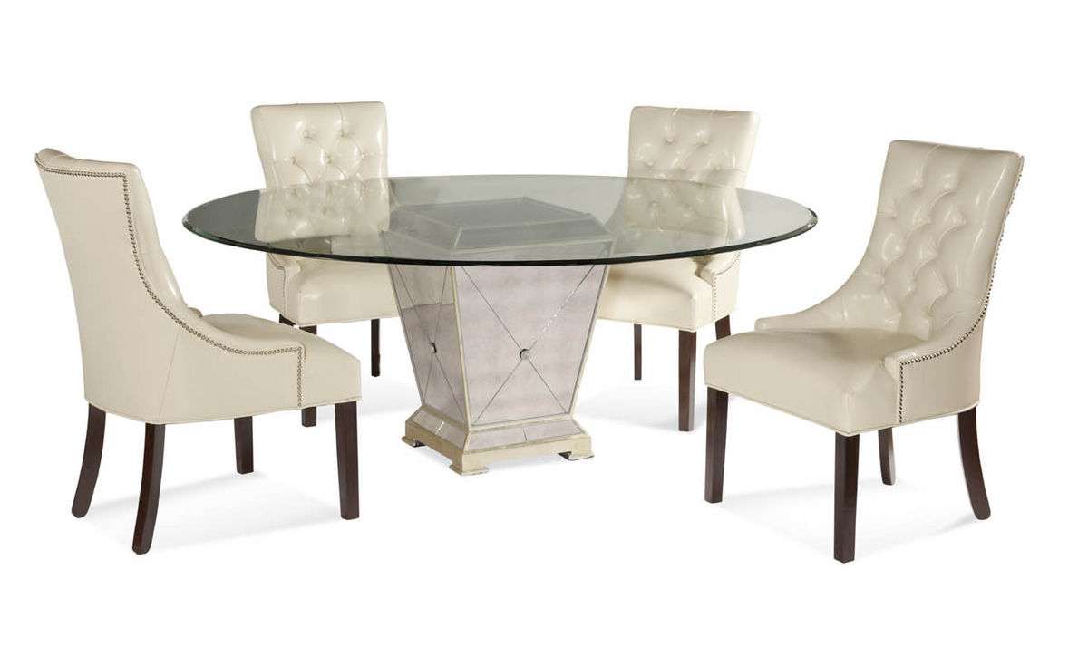 Strange Mirror Dining Table Round Round Black Dining Table White Home Interior And Landscaping Ymoonbapapsignezvosmurscom