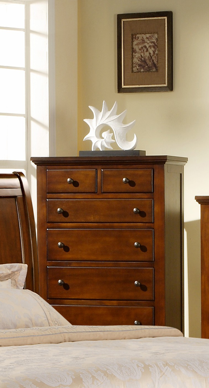 Chatham Chest Walnut Finish Ch555ch Decor South
