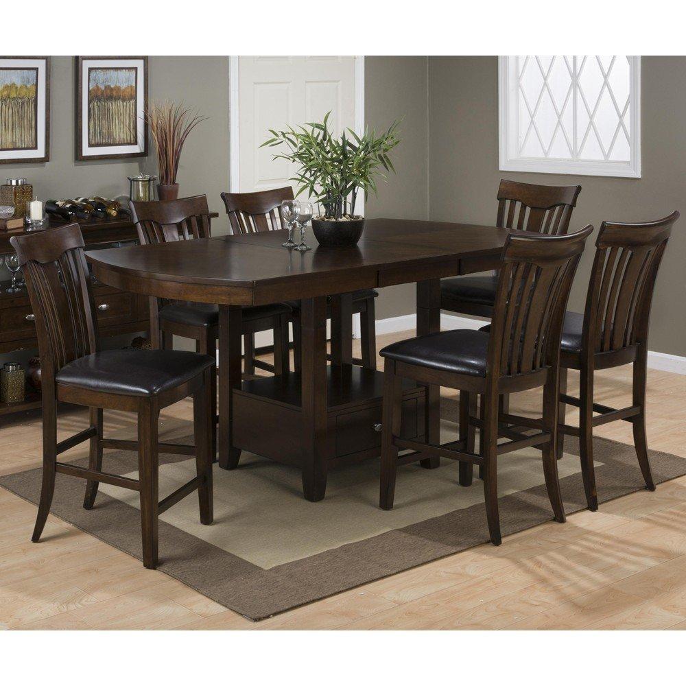 Mirandela Birch Counter Height 7 Piece Dining Set 836