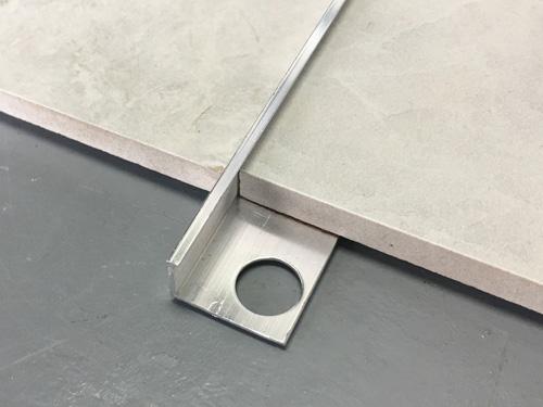 aluminum l shape tile edging trim yj