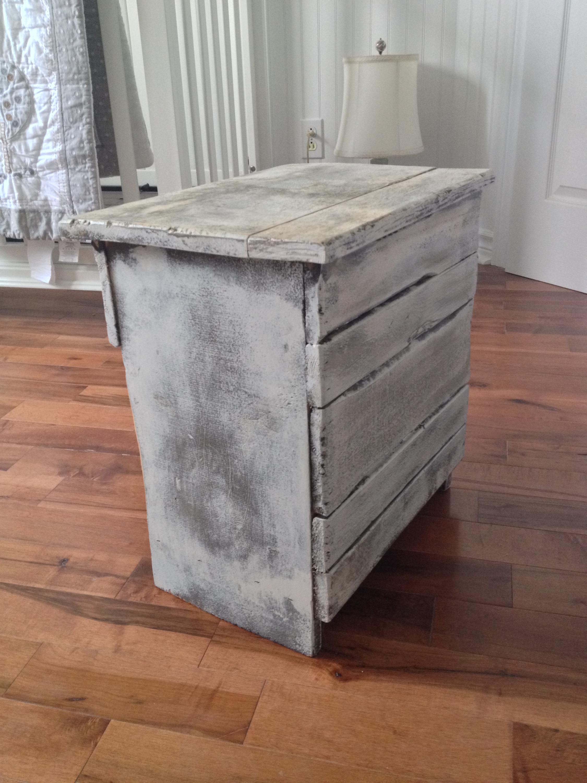 table de chevet meuble shabby chic 3
