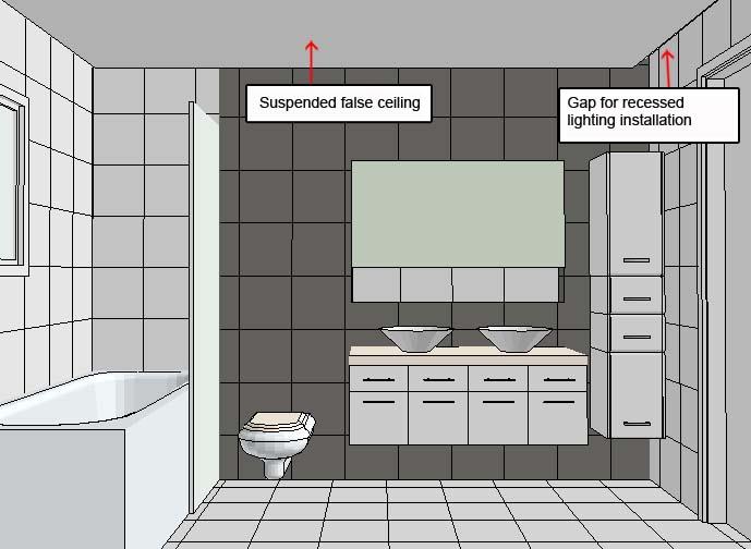 Image Result For Rectangular Bathroom Layout