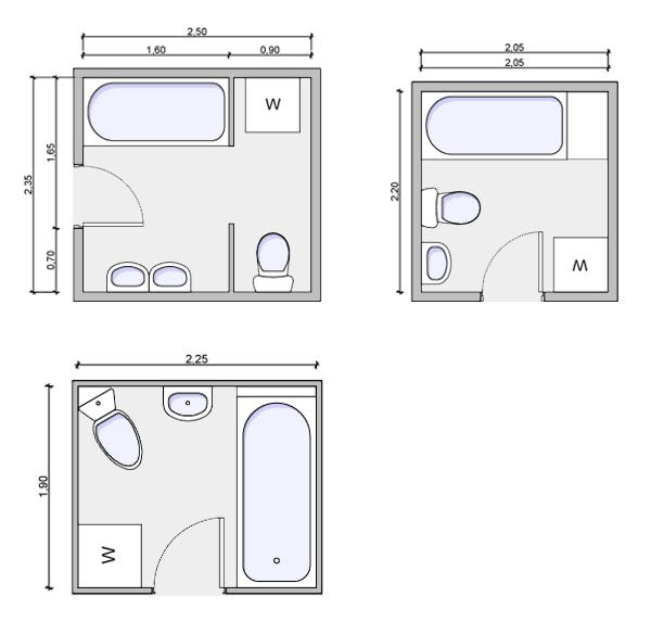 bath with laundry floorplan