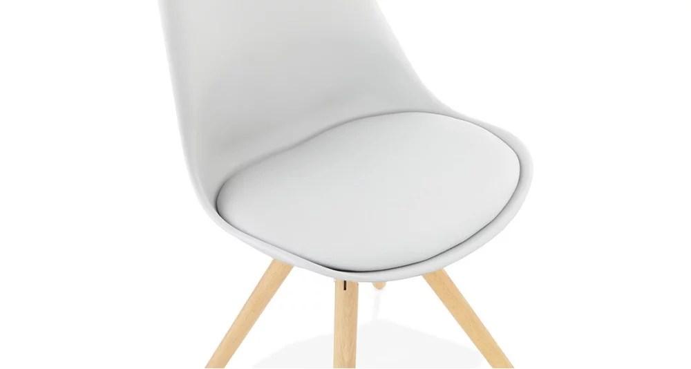 chaise scandinave gris clair lou