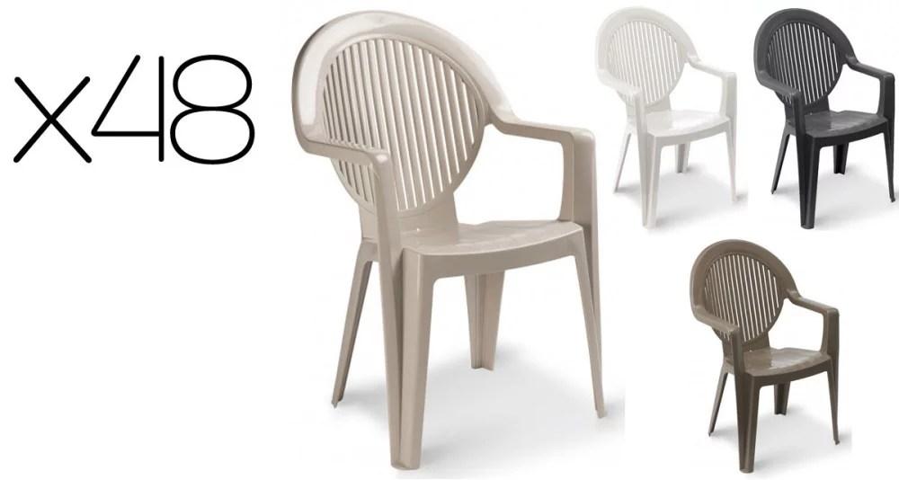chaise de jardin plastique chaise d
