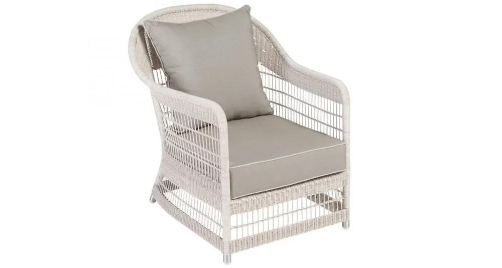 fauteuil biarritz en resine tressee