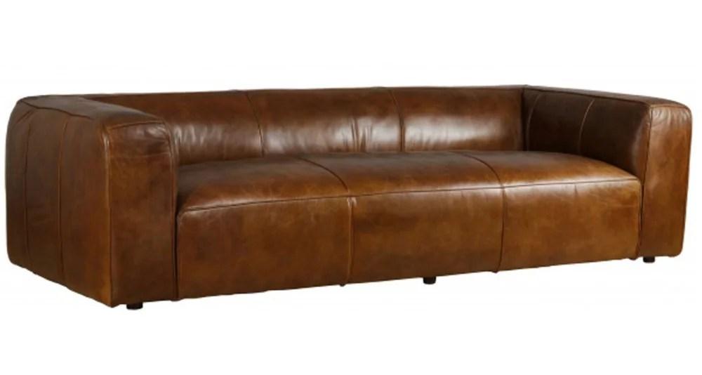 grand canape chic 4 places en cuir terre neuve