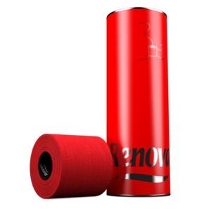 Accessoires déco pour les toilettes les rouleaux de papier toilette Renova rouge