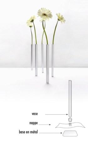 Vase pas cher - Lesvases magnétiques by PA Design