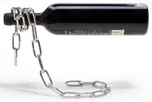 porte-bouteille chaîne