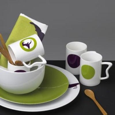 4 mugs VITAMINES by Fous de dînettes