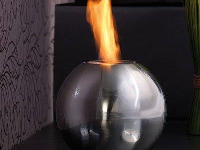torche décorative au bioéthanol