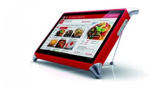 Qooq tablette tactile cuisine