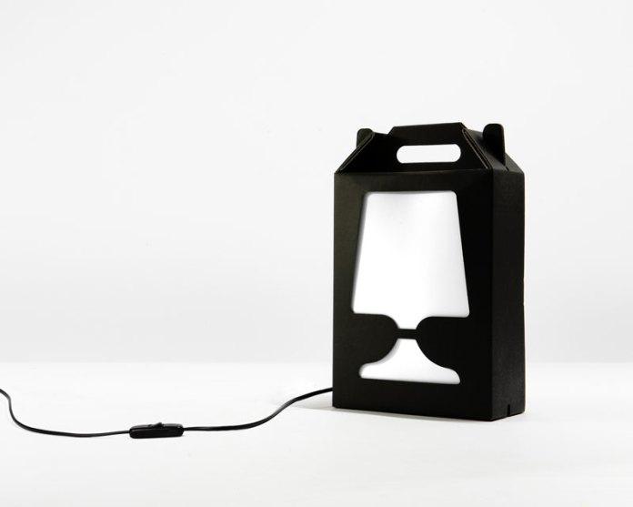 Flamp Noire lampe à poser