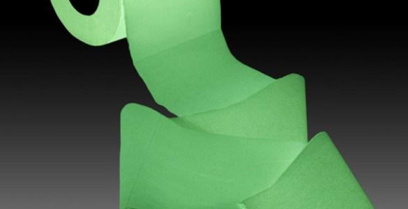 Papier Toilette Lumineux Fluorescent