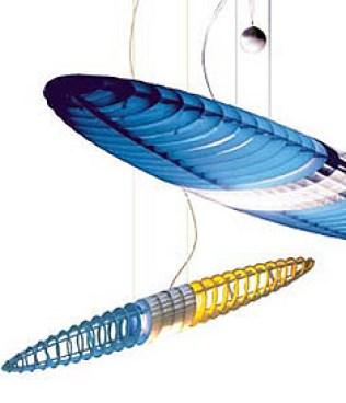Lampes design -Le lustre TITANIA by Alberto MEDA & Paolo RIZATTO