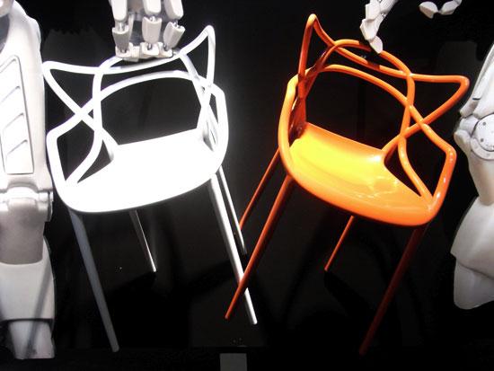 La chaise Masters de Philippe Starck