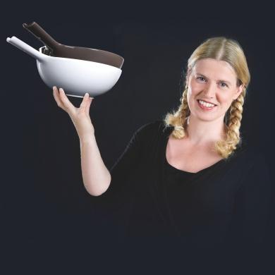 Assiette design : L'assiette bol by Ineke Hans