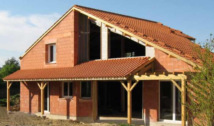 Brique Monomur Terre Cuite solution pour une maison bio-climatique